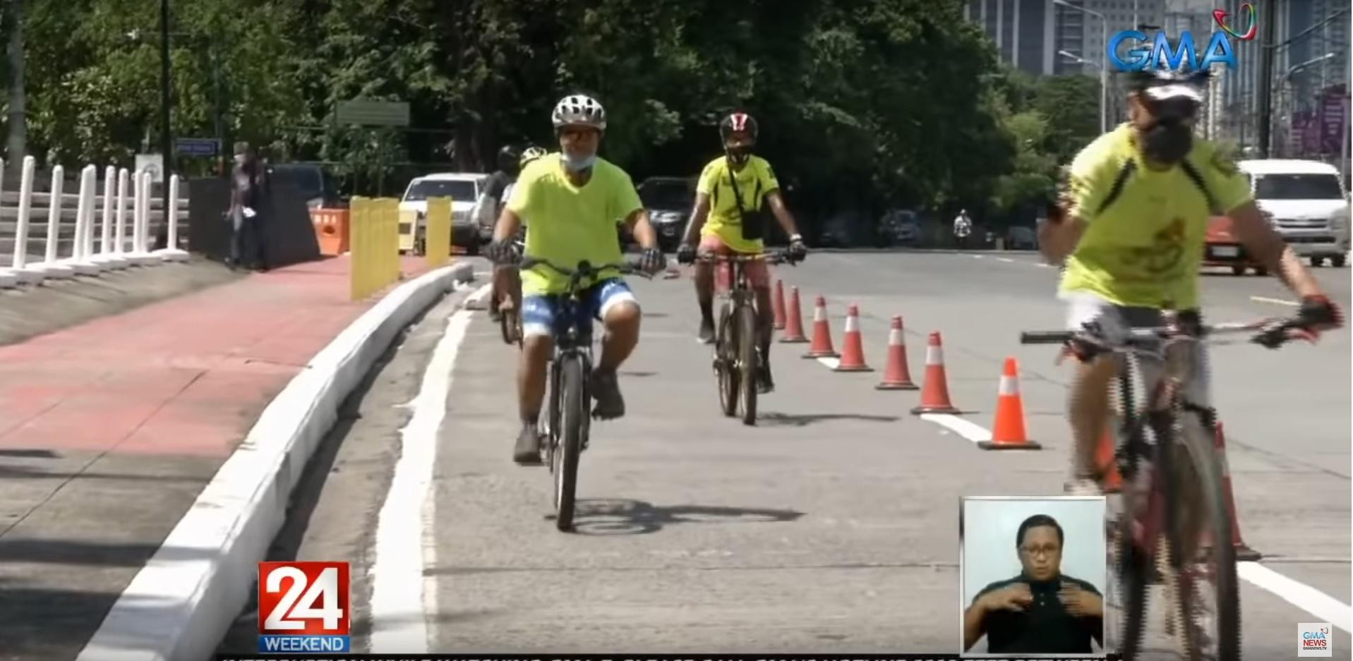 MMDA still studying protection for bike lanes